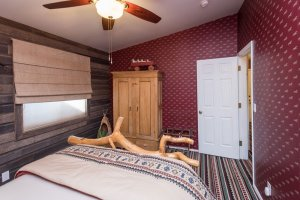 wood wardrobe and wood paneling | The Inn at 410, within driving distance of Grand Canyon