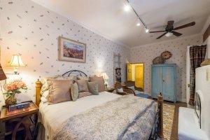 bedroom and ornate bed | The Inn at 410, near Sedona, AZ