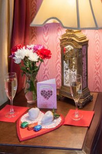 valentine's card and display | The Inn at 410, Historic Downtown District Flagstaff, AZ