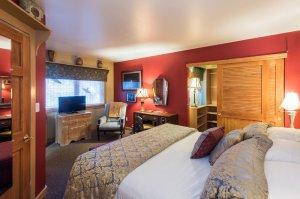 bed and walk-in closet | The Inn at 410, near Sedona, AZ