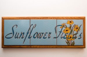 sunflower fields tile room sign | The Inn at 410, near Sedona, AZ