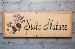 Suite Nature tile room sign | The Inn at 410, near Sedona, AZ