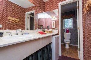 bathroom sink and toilet   The Inn at 410, near Sedona, AZ
