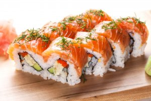 Sushi rolls | The Inn at 410, within driving distance of Grand Canyon