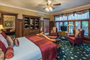 bed with throw pillows | The Inn at 410, near Sedona, AZ