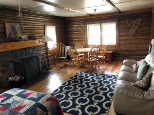 interior of cabin 3