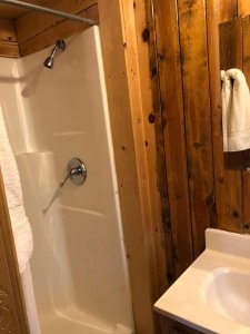 shower in cabin 3