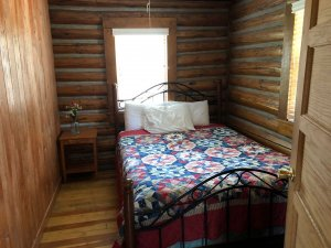 bed in cabin 4