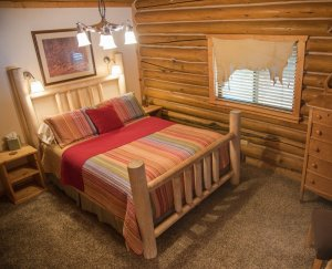 Log bedroom