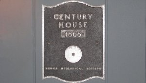 Century House 1868 - Historical marker
