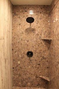 Marbel shower