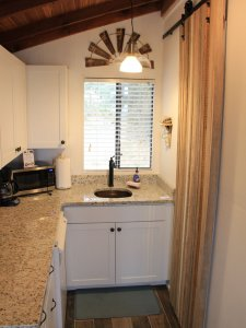 Kitchen sink and counters