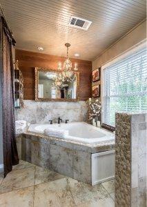 A Marble bath tub