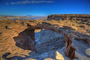 natural bridge rock formaiton