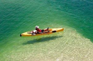 kayaking on lake powell