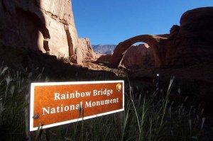 View of Rainbow Bridge National Monument