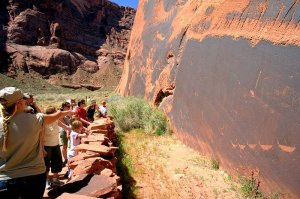 guide on raft trip Colorado River