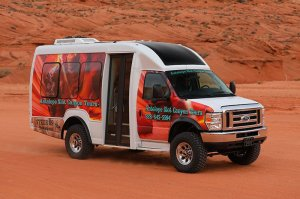 new transportation to and from antelope canyon