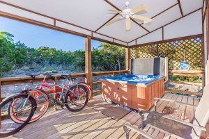 Hot Tub and Bicycles