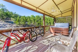 Bicycles and Hot Tubs