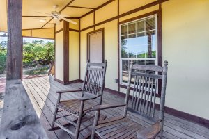 Front Porch and Rocking Chairs