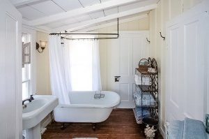 Bathroom with Claw Foot Tub