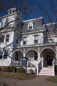exterior of inn