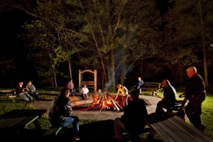Group around Firepit