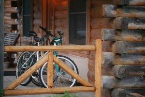 Bike Behind Fence
