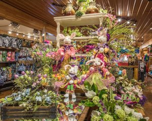 Easter Flower Display