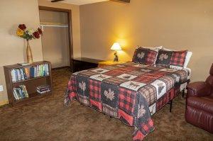 Bear Room at Estes Lake Lodge