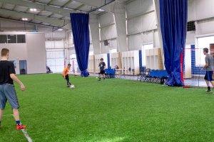 Shooters Soccer Club Facility boys running drills soccer