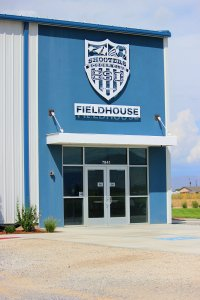 Shooters Soccer Club Facility exterior main entrance