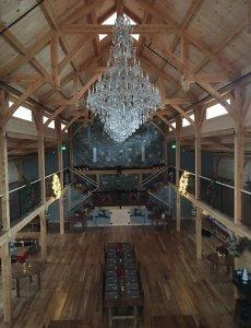 Chapel chandelier