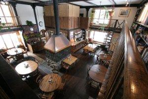 The Old Saco Inn Bistro bird's eye view