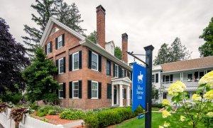 exterior of Blue Horse Inn