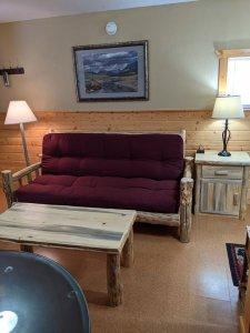 Sofa sleeper and coffee table