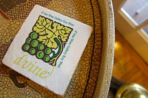 tile with d'vine wine gallery logo