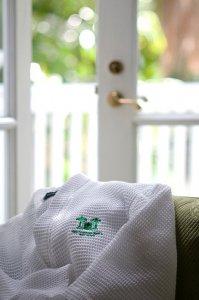 gardens hotel bathrobe