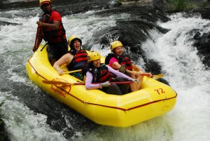 group river rafting