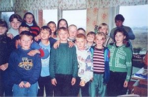 Crystal River Inn Russian Adoption kids in Russian orphanage