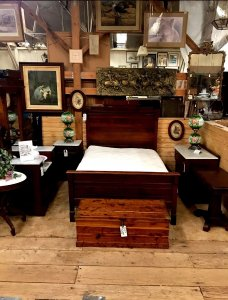 bed and bed frame