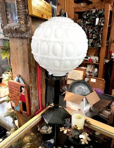 antique circular lamp