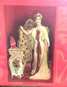 antique Coca Cola Ad