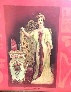 antique Coca Cola Ad