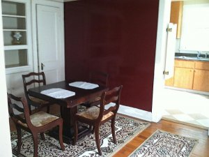 dining room and dining table