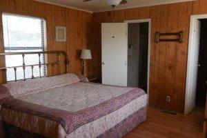 Iron headboard bed