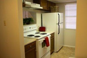oven and fridge