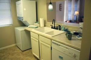 sink, dishwasher, and laundry machines