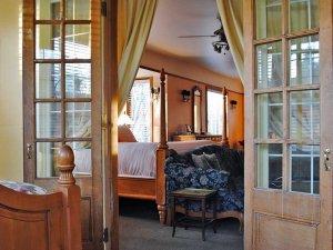 Bed Through Doorway